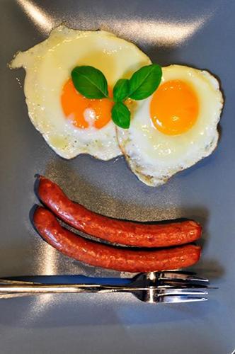Jaja na śniadanie